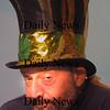 Newburyport:Danny Gerstein as the Mad Hatter in Alice in Wonderglass, a new play/adaptation by Marc Clopton at the Actors Studio in Newburyport. Jim Vaiknoras/Staff photo