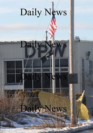 Newburyport: The Christopher Leary DPW building in Newburyport. Jim Vaiknoras/Staff photo