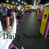 Newburyport; Pat Finnegan  of Newburyport workouts  at Planet Fitness in Newburyport. JIm Vaiknoras/Staff photo