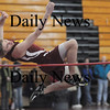 North Andover: Newburyport Steve Bajko clears the high jump at the meet Saturday at North Andover high school' Jim Vaiknoras/Staff photo