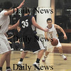 Newburyport: Newburyport's Chris Jayne makes a move against  Shawsheen Sunday night at Newburyport high school. Jim Vaiknoras/Staff photo