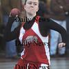 North Andover: Amesbury's Katrina Hicks throws the shot put at the meet in North Andover Saturday in North Andover. Jim Vaiknoras/Staff photo