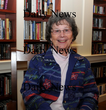 Groveland: Marilyn Diehl, the recipient of the this years Nancy Peace award at her home in Groveland. Jim Vaiknoras/Staff photo