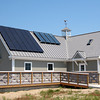 Newbury: A new vistor center building has been erected at the Plum Island Wildlife Reservation, complete with renovated facilities and located in the first parking lot. Photo by Ben Laing/Staff Photo