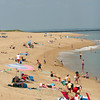 Newbury: Tuesday's high temperatures led many to Plum Island in an attempt to keep cool. Photo by Ben Laing/Staff Photo