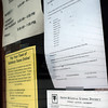 Salisbury: Public meeting notices are now being posted at Salisbury Town Hall on outside windows so the public can see them anytime. Bryan Eaton/Staff Photo