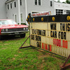 West Newbury: This car is going to be raffled for the Lt. Kevin Fowler fund. Bryan Eaton/Staff Photo