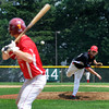Amesbury: Nationals Jake Bruce pitches against Rockland in their Stan Musial tournament game at Amesbury high Staurday. Jim Vaiknoras/Staff photo
