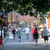 Newburyport: Shadows cross Inn Street  on a hot Friday afternoon in Newburyport. Jim Vaiknoras/Staff photo