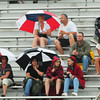 Newburyport: Newburyport fans watching the high school boys lacrosse team host Swampscott had umbrellas in hand during yesterday's sprinkles. After a seasonable day today, rain returns tomorrow. Bryan Eaton/Staff Photo