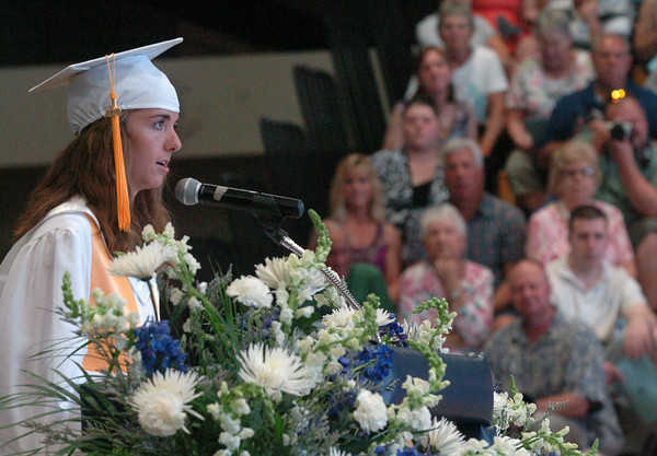 Byfield: Triton High School salutatorian Erin Loughlin. Bryan Eaton/Staff Photo