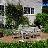 Byfield: The patio area of gardens at Lillian Newbert's Middle Road home in Byfield. Bryan Eaton/Staff Photo