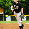Salisbury: Salisbury pitcher Emily Levesque hurls against Rowley in the Salisbury Little League All-Star games. Bryan Eaton/Staff Photo