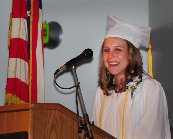 Georgetown: Georgetown High valedictorian Pauline Reilly. Bryan Eaton/Staff Photo