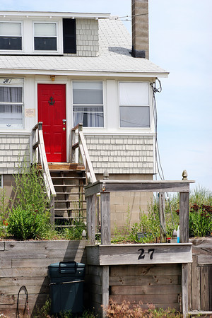 Newbury: The home at 27 Annapolis Way on Plum Island is up for auction from the town of Newbury. Photo by Ben Laing/Staff Photo