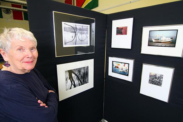 Newburyport: Local Newburyport artists Patricia Bashford will be exhibiting 34 photographs at the Joppa Flats Nature Center on Plum Island. Photo by Ben Laing/Staff Photo