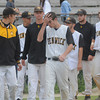 Lowell: Bishop fenwick players walk off alumni Field dejected after their loss to Amesbury Wednesday night in Lowell. Jim Vaiknoras/Staff photo