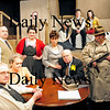 "Amesbury: The cast of ""The Diary of Anne Frank"" at the Amesbury Playhouse. Photo by Ben Laing/Staff Photo"
