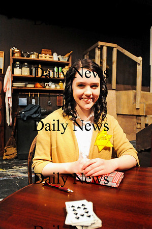 "Amesbury: Corinne DeCoste will be playing the title role in ""The Diary of Anne Frank"" at the Amesbury Playhouse. Photo by Ben Laing/Staff Photo"