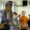 "Amesbury: Ed the Wizard brought his program ""Reading is Magic"" to Amesbury Elementary School on Wednesday morning. Using volunteers, Ed weaves reading and magic together along with laughter using a bit of comedy and suspense."
