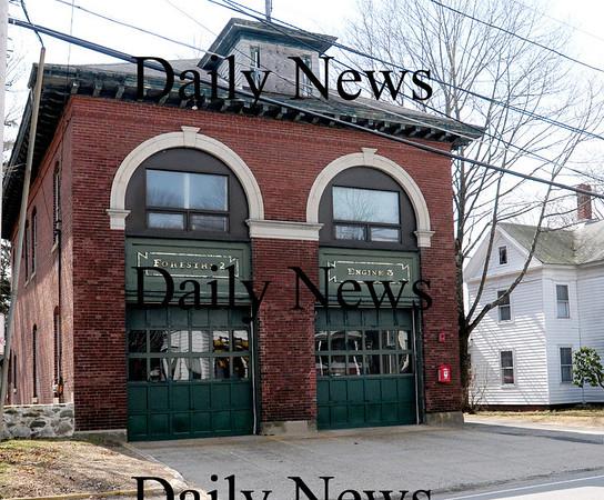 Amesbury: Elm Street fire station. Bryan Eaton/Staff Photo