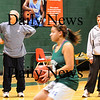 West Newbury: Pentucket girls basketball assistant coaches Bob and Amy Beaton. Bryan Eaton/Staff Photo