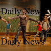 "Amesbury: Members of the Amesbury Middle School Drama Club rehearses the musical ""Oklahoma"" which they are presenting on April 8th and 9th. Bryan Eaton/Staff Photo"