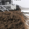 Newbury: Erosion at the Nyes property on Plum Island. Jim Vaiknoras/Staff photo
