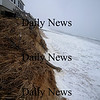 Newbury: Erosion at the Drinkwater property on Plum Island. Jim Vaiknoras/Staff photo