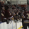 Salem: Newburyport player celebrate the teams 3rd goal agianst Peabody at Salem State Friday night. Jim vaiknoras/Staffphoto