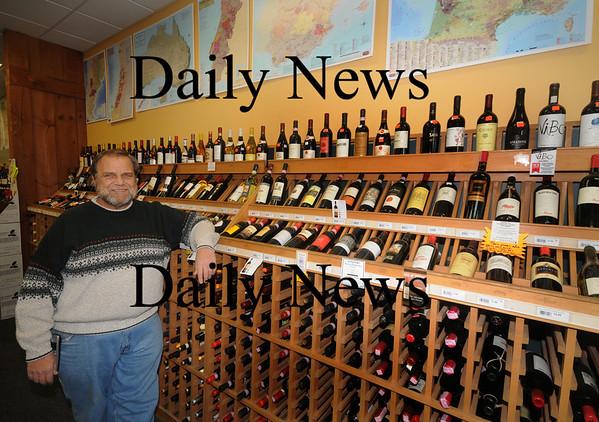 Nwburyport: New England Wine and Spirits of Newburyport manager Paul Sousa. Jim Vaiknoras/Staff photo