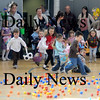 Salisbury:Kids charge into the gym at the annual Egg Hunt sponsored by the Salisbury parks and Recreation dept at the Elementary School Saturday. Jim Vaiknoras/Staff photo