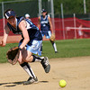 Byfield: Triton shortstop Brooke Jamison (3) scoops up a ground ball during Monday's game against Newburyport. Photo by Ben Laing/Staff Photo
