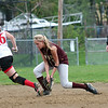 Newburyport: Newburyport shortstop Lindsey Tomasz (11) scoops up a ground ball during Monday's game against Masco. Photo by Ben Laing/Staff Photo