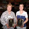 Newburyport: Rotary award winners Susan Christ, left, and Kate Kelly, right. Photo by Ben Laing/Staff Photo