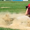 Byfield: Newburyport's Beth Castantini slides safely into third base during Monday afternoon's game at Triton. Photo by Ben Laing/Staff Photo