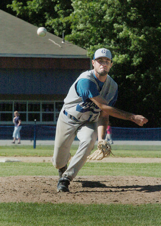 Georgetown: Georgetown pitcher Ryan Browner. Bryan Eaton/Staff Photo
