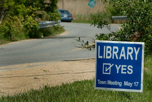 Salisbury: Salisbury residents will be voting on the future of a proposed new library at town meeting. Bryan Eaton/Staff Photo