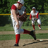 Amesbury: Amesbury pitcher Ward throws against Wilmington yesterday. Bryan Eaton/Staff Photo