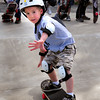 Newburyport: Cody Savage, 5, of Newburyport takes lessons at the Newburyport Skateboard Park. Bryan Eaton/Staff Photo