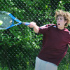 Amesbury: Newburyport third singles all-league Matt Mogren. Bryan Eaton/Staff Photo