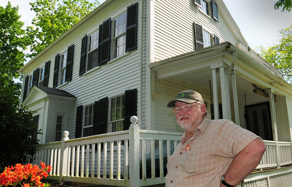 Newburyport: Dick Chase of Arrowhead Farm wants to preserve this farmhouse his late sister lived in at the Ferry Road farm. Bryan Eaton/Staff Photo