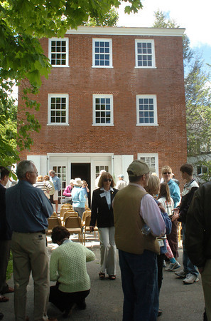 Newburyport: Over 100 people attended the opening of the restored Mint Building. Bryan Eaton/Staff Photo