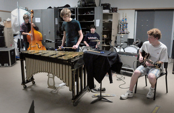 West Newbury: The Pentucket Jazz Combo will be performing this weekend at the Hatch Shell in Boston. Bryan Eaton/Staff Photo