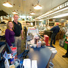 Newburyport: Andy MacDonald and his wife Bonnie , owners of Fowle's Market on High Street in Newburyport. Jim Vaiknoras/Staff photo