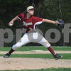 Boxford: Newburyport's Kyle McElroy pitches at Masconomet Saturday in Boxford. Jim Vaiknoras/Staff photo