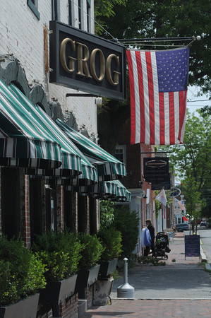 NEWBURYPORT: Best burger and best entertainment. The Grog
