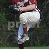 Boxford: Newburyport's Kyle McElroy pitches at Masconomet Saturday in Boxford. Jim Vaiknoras/Staff photo