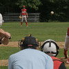 West Newbury: Amesbury's James Paraday pitches at Pentucket Saturday morning. Jim Vaiknoras/Staff photo