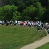 Newburyport: Runners take off in Maudslay State Park for the 10th annual Trav's Trail Run Sunday morning. Jim Vaiknoras/Staff photo